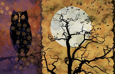 All Hallow's Eve 1I Poster by Art Licensing Studio for $40.00 CAD