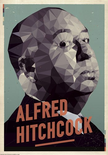 Alfred Hitchcock Poster by American Flat for $38.75 CAD