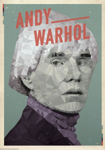 Andy Warhol Poster by American Flat for $38.75 CAD