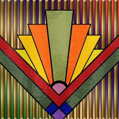 Art Deco 27 Poster by Art Deco Designs for $45.00 CAD