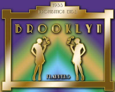 Brooklyn Prohibition Poster by Art Deco Designs for $40.00 CAD