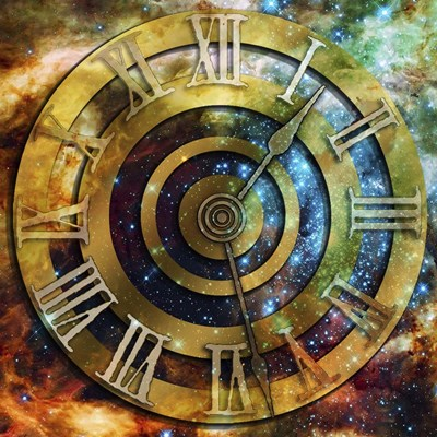 Space Time Poster by Art Deco Designs for $45.00 CAD