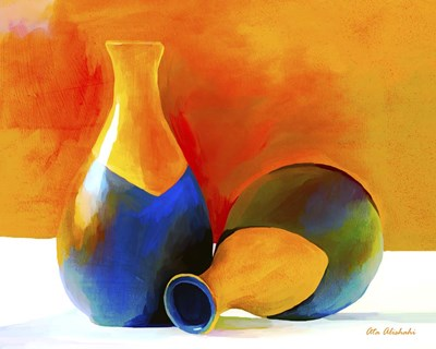 Two Vases Poster by Ata Alishahi for $56.25 CAD