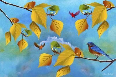 Autumn Season Poster by Ata Alishahi for $43.75 CAD