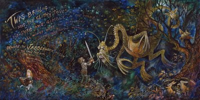 Jabberwocky Poster by Bill Bell for $32.50 CAD