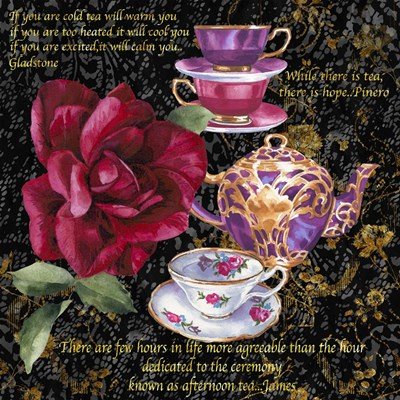 Tea Time 1 Poster by Bill Jackson for $56.25 CAD