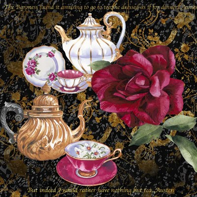 Tea Time 3 Poster by Bill Jackson for $56.25 CAD