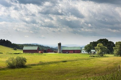 Vermont Farm Poster by Brenda Petrella Photography LLC for $43.75 CAD