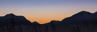 Yukon Winter Light Poster by Brenda Petrella Photography LLC for $41.25 CAD