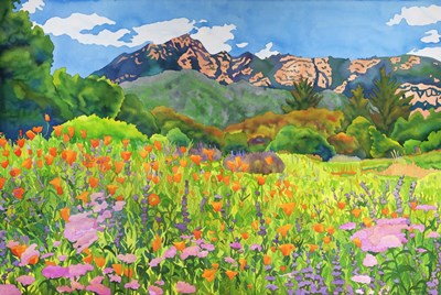 Santa Barbara Botanic Garden Poster by Carissa Luminess for $38.75 CAD