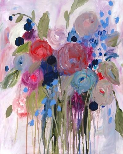 Fresh Bouquet Poster by Carrie Schmitt for $65.00 CAD