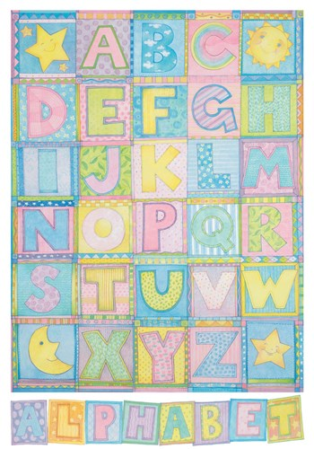 Alphabet Poster by Cheryl Piperberg for $70.00 CAD