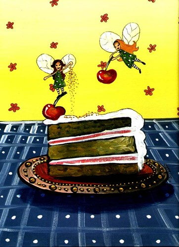 Cake Fairies Poster by Cherie Roe Dirksen for $42.50 CAD