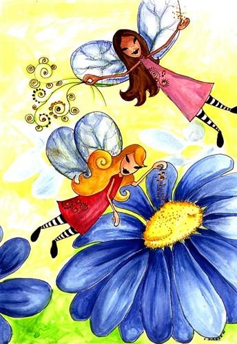 Flights Of Fairy Fancy Poster by Cherie Roe Dirksen for $43.75 CAD