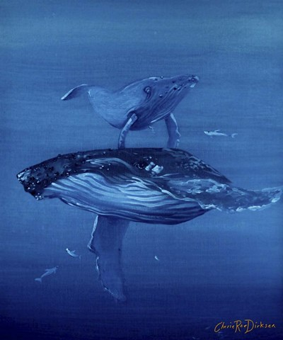 Whales Poster by Cherie Roe Dirksen for $38.75 CAD