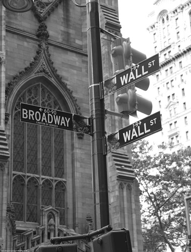 Wall Street Signs Poster by Christopher Bliss for $38.75 CAD