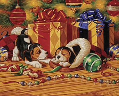 Beagle Pups Poster by Christopher Nick for $42.50 CAD
