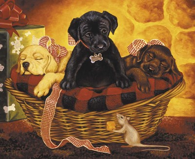 Lab Basket Poster by Christopher Nick for $43.75 CAD