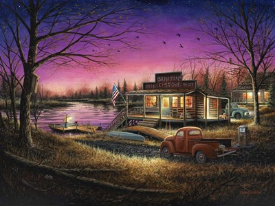 A Perfect Evening Poster by Chuck Black for $67.50 CAD