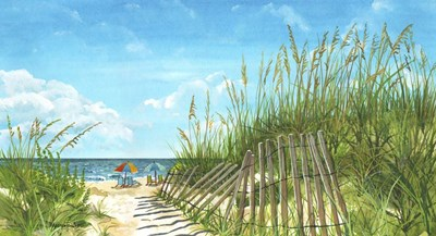 Beach Path Poster by Cindy Fornataro for $38.75 CAD