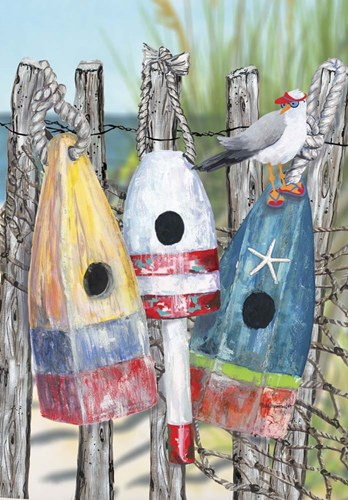 Buoy Birdhouse Poster by Cindy Fornataro for $42.50 CAD