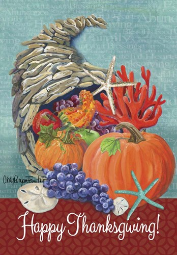 Driftwood Cornucopia Poster by Cindy Fornataro for $42.50 CAD
