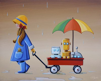 Just Another Rainy Day Poster by Cindy Thornton for $40.00 CAD