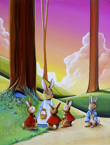 Peter Rabbit 1 Poster by Cindy Thornton for $41.25 CAD