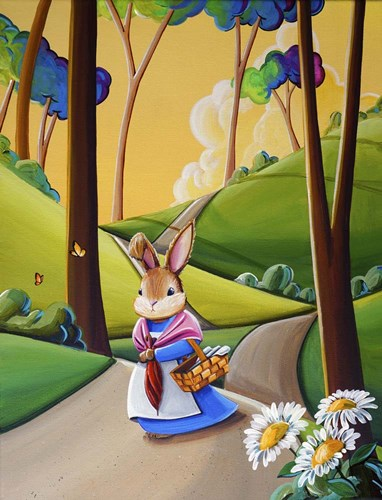 Peter Rabbit 2 Poster by Cindy Thornton for $41.25 CAD
