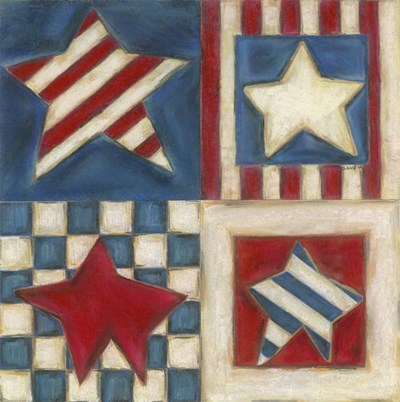 American Stars Poster by Claudia Interrante for $41.25 CAD