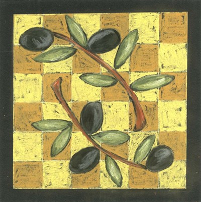 Tuscan Olive Branch III Poster by Claudia Interrante for $41.25 CAD