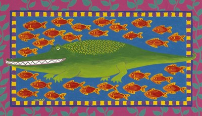 Fish Poster by Claudia Interrante for $40.00 CAD