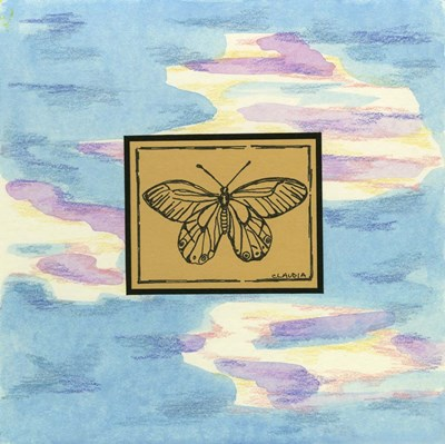 Butterfly Poster by Claudia Interrante for $41.25 CAD