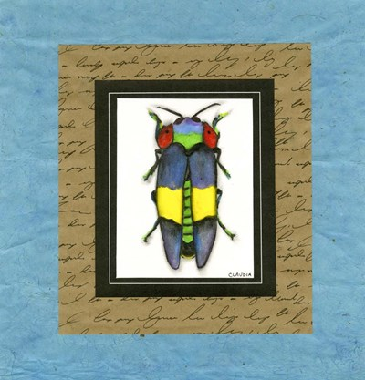 Bugs I Poster by Claudia Interrante for $42.50 CAD