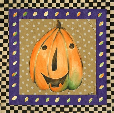 Jack o Lantern III Poster by Claudia Interrante for $41.25 CAD