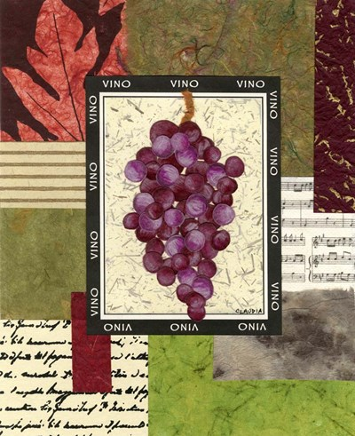 Vineyard Poster by Claudia Interrante for $47.50 CAD