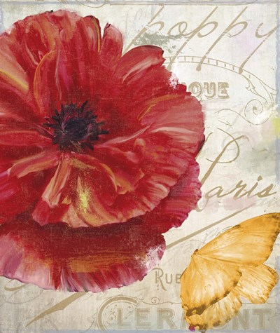 Red Poppy Poster by Color Bakery for $53.75 CAD