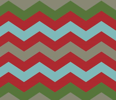Xmas Chevron 7 Poster by Color Bakery for $37.50 CAD