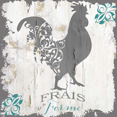 Ferme Teal 1 Poster by Color Bakery for $56.25 CAD