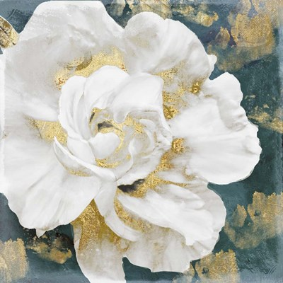 Petals Impasto (Gold) Poster by Color Bakery for $63.75 CAD