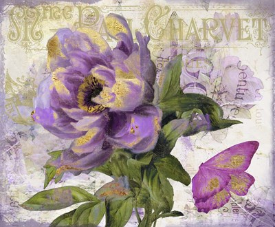 Purple Peony Poster by Color Bakery for $63.75 CAD