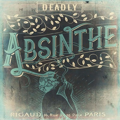 Absinthe Poster by Color Bakery for $41.25 CAD
