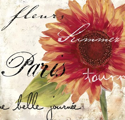 Paris Songs II Poster by Color Bakery for $55.00 CAD