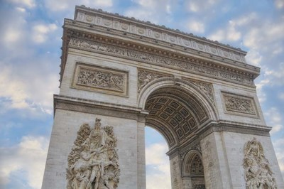 Arc de Triomphe I Poster by Cora Niele for $43.75 CAD