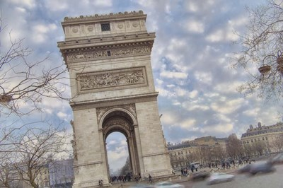 Arc de Triomphe II Poster by Cora Niele for $43.75 CAD
