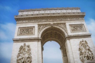 Arc de Triomphe III Poster by Cora Niele for $43.75 CAD
