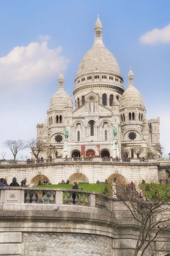 Basilique du Sacre-Coeur I Poster by Cora Niele for $43.75 CAD