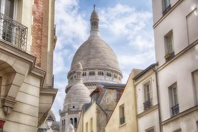 Basilique du Sacre-Coeur Poster by Cora Niele for $43.75 CAD