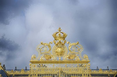 Golden Gate Of The Palace Of Versailles I Poster by Cora Niele for $43.75 CAD