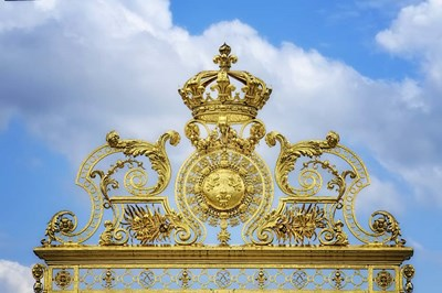 Golden Gate Of The Palace Of Versailles II Poster by Cora Niele for $43.75 CAD
